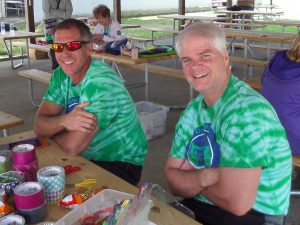 Dr. Leonard and Dr. Orie at Heart Camp